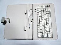 Чехол клавиатура для планшета 7 Rus USB Белый, фото 1