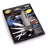 Нож перочинный 14в1 9х2,5х2 см 29596