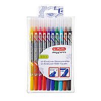 Фломастери-лайнери двосторонні Herlitz My.Pen 10шт 0,5 мм/4мм кольорові (11367232), фото 1