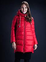 Зимняя куртка CLASNA CW16D-040C(137) красный, фото 1