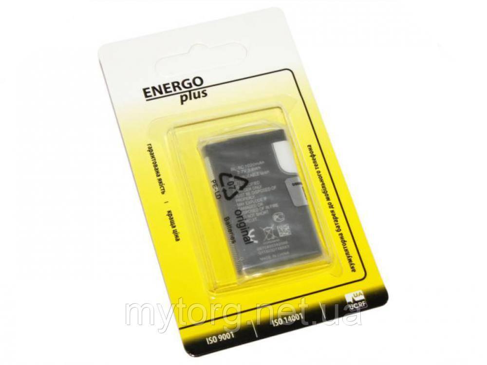 Аккумулятор Nokia BL-5C, Energo Plus, 1020 mAh (1100, 1101, 1110, 1110i, 1112, 1200, 1208, 1209, 1280, 1600