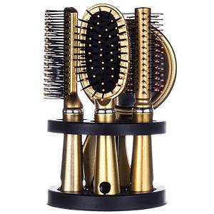 Набір гребінців для волосся Bo Hua Salon №SW-14, 5шт