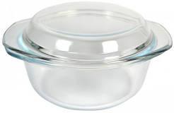 Кастрюля стеклянная круглая V= 1000мл (Арт. 1864)