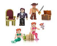 "Набор Роблокс 4 штуки ""Лагуна Неверленд"" Roblox Celebrity Neverland Lagoon Four Figure Pack Оригинал из США"