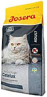 Josera Cat Catelux для кошек против комков шерсти, 400 гр