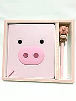 Блокнот,Органайзер,Ежедневник «Pink pig»