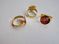 Перстень 15 мм. Золото