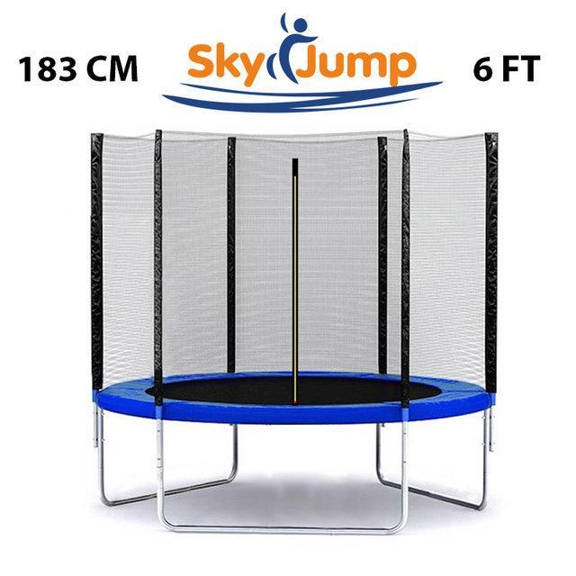 Батут SkyJump 6 фт., 183 см. із захисною сіткою