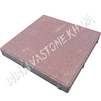 Тротуарная плитка сухопрессованная «Квадрат»  40х40х5 см;, фото 3