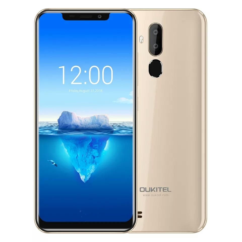 "Смартфон Oukitel C12 Pro Gold 4G 6.18"" 2/16Гб 3300мАч в наличии + чехол"