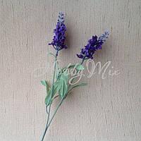 Лаванда искусственная фиолетовая (двойная веточка), фото 1