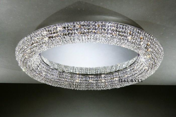Потолочный светильник LA LAMPADA PL 1121/16.02 хром/прозрачный