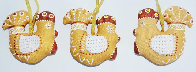 пасхальный сувенир Золотой петушок