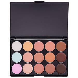 Палетка консилеров MAC Z15 professional makeup, 15 цветов