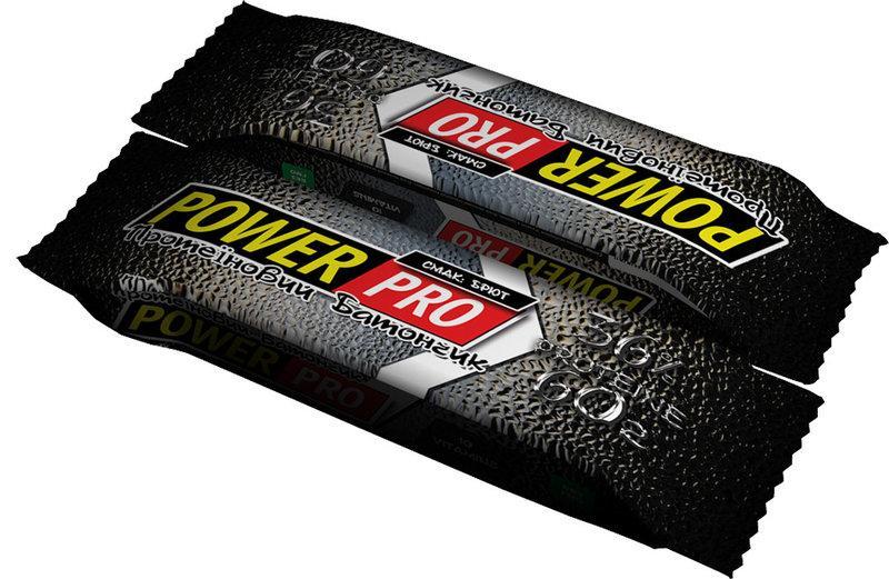 Power Pro Протеиновый батончик 36% брют, 60 г, 20 шт