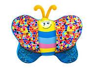 """Детская мягкая игрушка-подушка """"Бабочка"""" DT-ST-01-56 джинсовая ТМ Danko Toys / Royaltoys"""