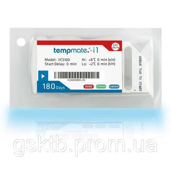 Одноразовый индикатор температуры Tempmate-i1