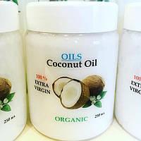 """Нерафинированное кокосовое масло """"Organic Coconut Oil"""", холодный отжим, 250 мл"""