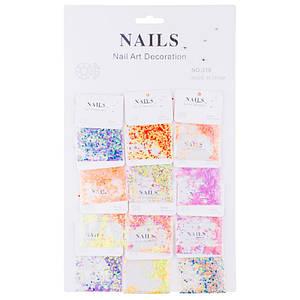 Конфетті-паєтки для декору нігтів Nails №318(6-111)