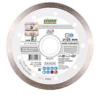 Алмазний відрізний диск DISTAR по керамограніту, мармуру, твердій кераміці 125мм, 1A1R Hard ceramics 5D/ 11115048010