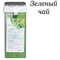 Кассетный воск для депиляции Water-Solube, 150г зеленый чай