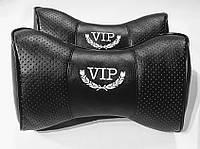Подушка на подголовник V.I.P. черная