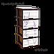 Комод с рисунком Лаванда 46,5х39,5х95,5 Алеана 123093, фото 2