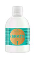 Шампунь с кератином Kallos Keratin  , 1000 мл