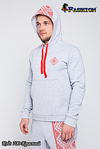 Мужской зимний спортивный костюм Аргайл, фото 2