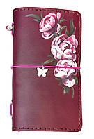 Блокнот ручной работы Розовые розы (S067L) КОД: 363034