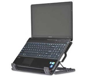 Охлаждающая подставка для ноутбука Cooler Master Notepal Ergo Stand (R9-NBS-4UAK), фото 2