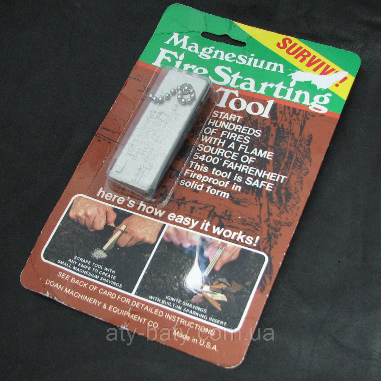 Магниевое огниво Doan Magnesium FireStarter (USA)