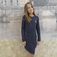 Теплое детское платье, фото 1