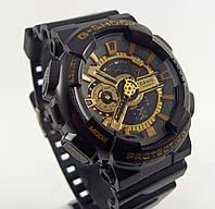 Часы Casio G-Shock 5081 GA-100 мужские черные в металлической коробочке копия, фото 1