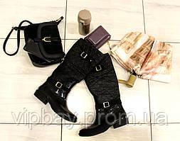 Женские стильные резиновые сапоги утепленные (Г-3)