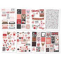 Наклейки - Kissing Booth - Simple Stories - 10х15 - 8 л.