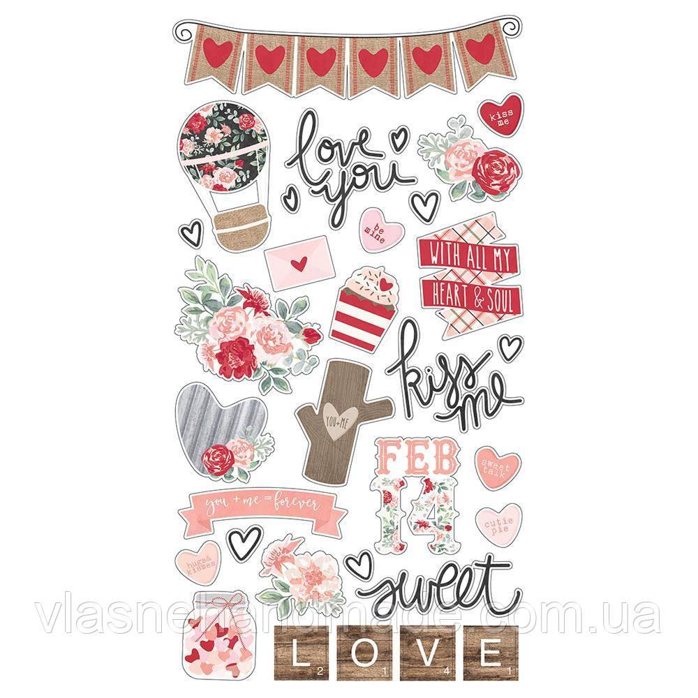 Чіпборд - Kissing Booth - Simple Stories