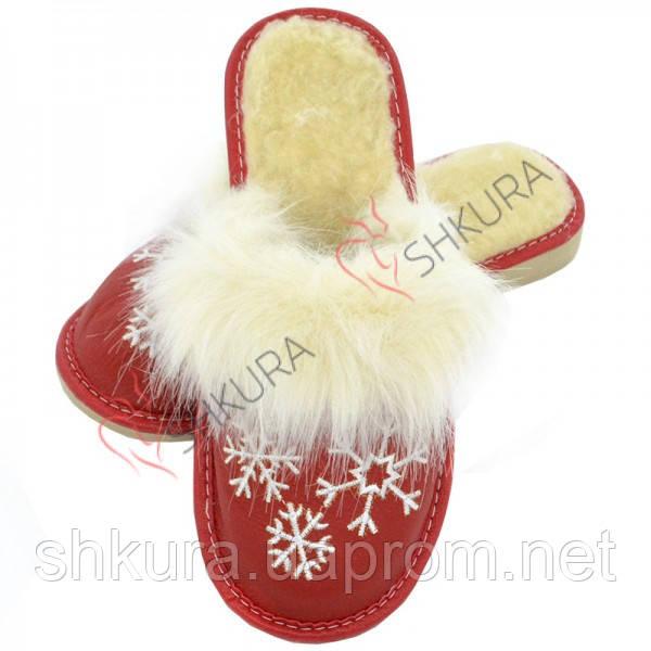 Тапочки женские зимние, ШВО11, фото 1