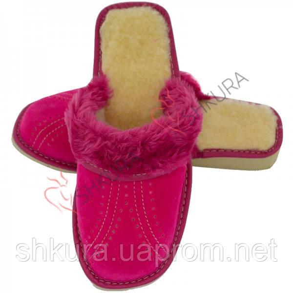 Тапочки женские зимние, ЗВО8. Розовые
