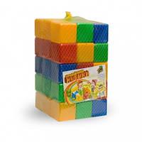Кубики для развития детей цветные 45 штук код: МР-80045
