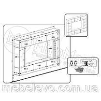 Кубика Гостиная вариант-2 1650х2490х350мм    Миро-Марк, фото 3
