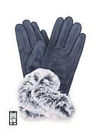 Перчатки Anjel 100002156127 для сенсорных экранов Сине-серый (2156127)
