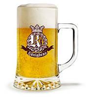 Пивная кружка с логотипом, печать на пивной кружке