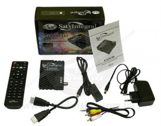 Спутниковый тюнер Sat-Integral S-1218 HD