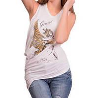 Женская футболка Gemini оптом 2 цвета, фото 1