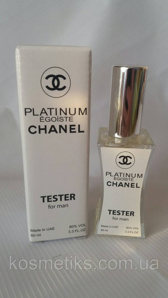 Мужской Тестер - Chanel Egoiste Platinum - 60 мл