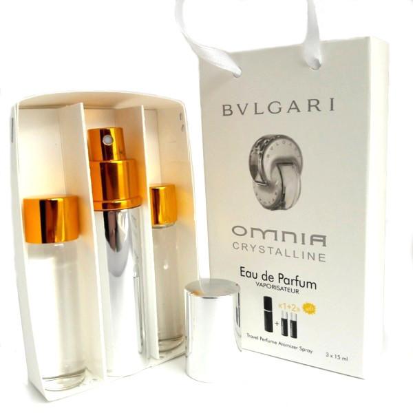 Набор с феромонами - Bvlgari Omnia Crystalline (3×15 ml)