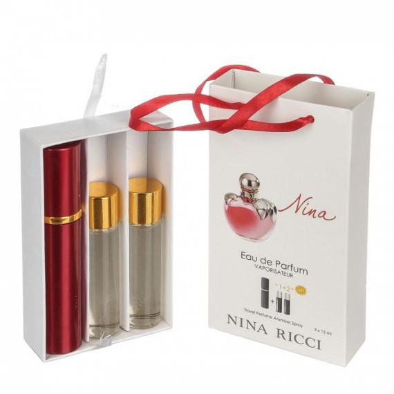 Набор с феромонами - Nina Ricci Nina (3×15 ml)