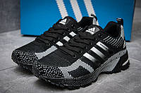 Кроссовки женские в стиле Adidas  Marathon TR 21, черные (11722),  [  37 38 39 40  ], фото 1