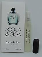 Мини-парфюм Giorgio Armani Acqua di Gioia (10 мл)